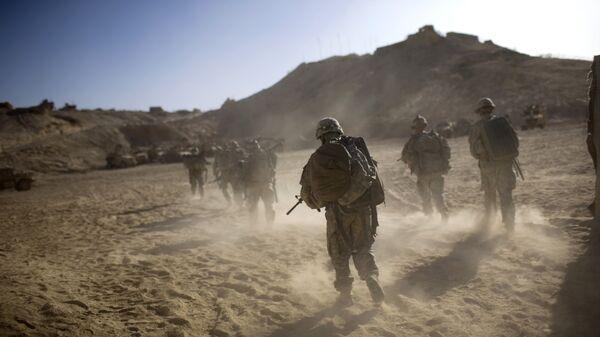 Военнослужащие США, Афганистан. Архивное фото