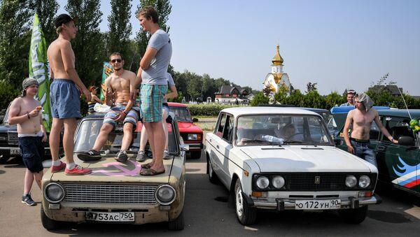 Участники Второго всероссийского фестиваля Жигулей Жи-Фест. 19 августа 2017