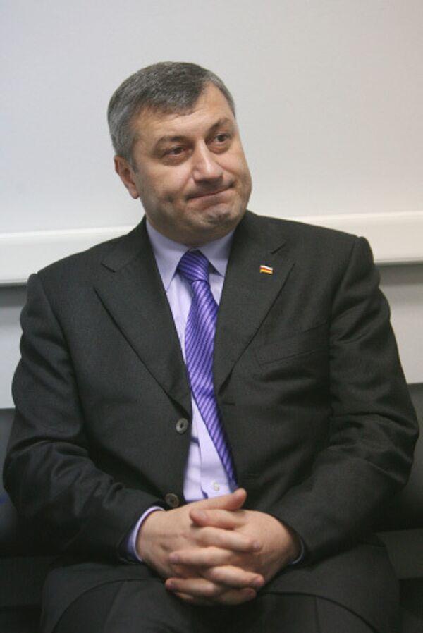 Президент Южной Осетии Эдуард Кокойты