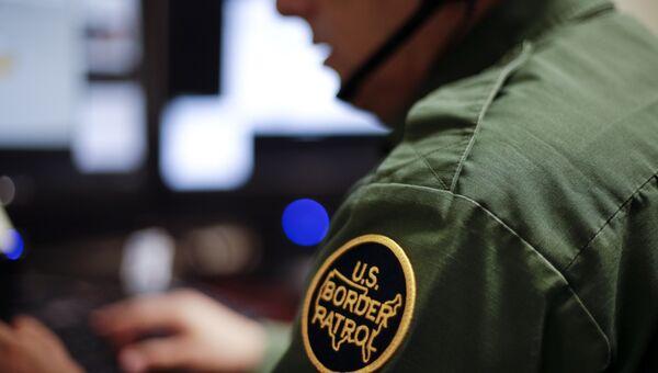 Сотрудник пограничной службы США. Архивное фото