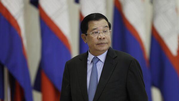 Премьер-министр Королевства Камбоджа Хун Сен. Архивное фото