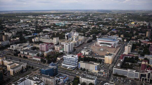 Площадь Тысячелетия в Саранске