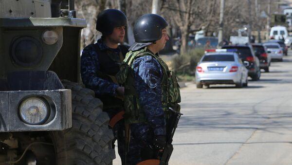 Сотрудники полиции Дагестана. Архивное фото