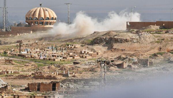 Ситуация в Дейр-эз-Зоре. Архивное фото