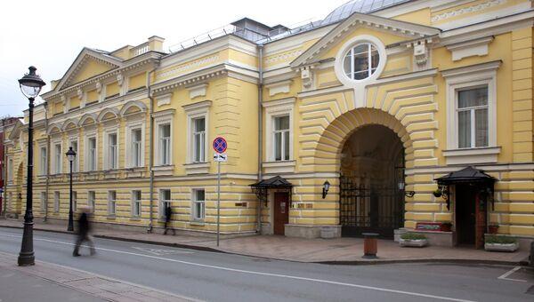 Фасад театра Геликон-опера. Архивное фото