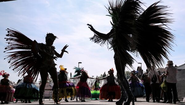 Карибский карнавал в лондонском районе Ноттинг-Хилл