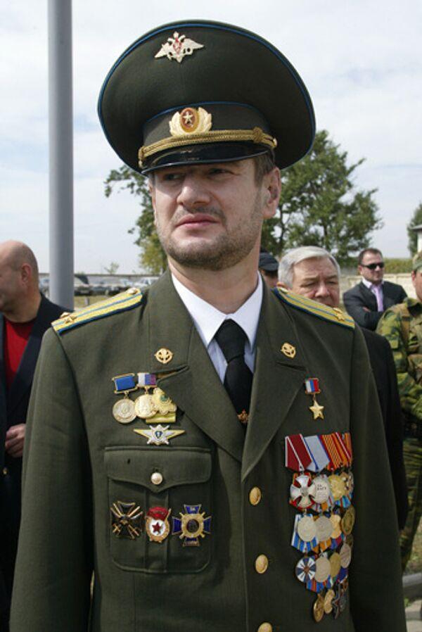 Командир батальона Восток Сулим Ямадаев