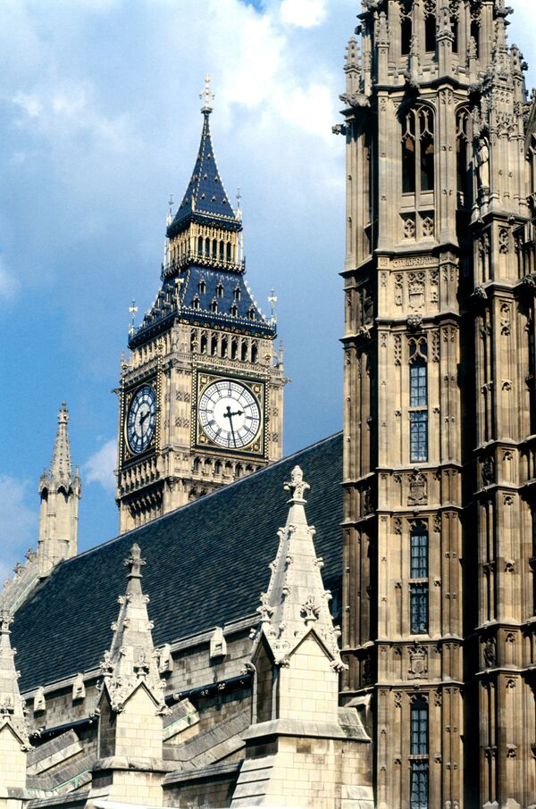 Лондон. Вестминстерский дворец