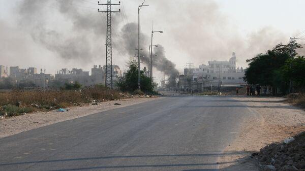 Междоусобные столкновения. Сектор Газа