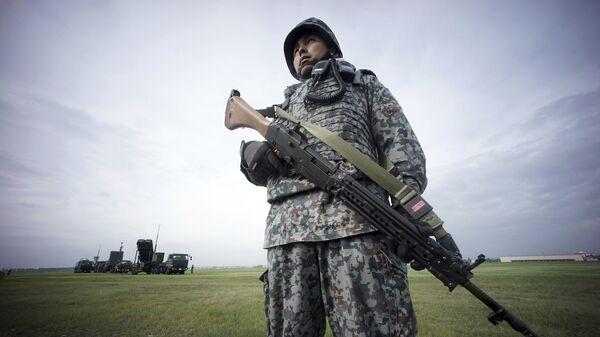 Японский военнослужащий