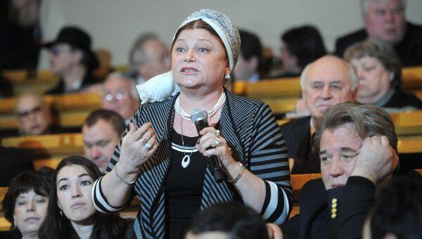 Народная артистка России Людмила Рюмина. Архивное фото