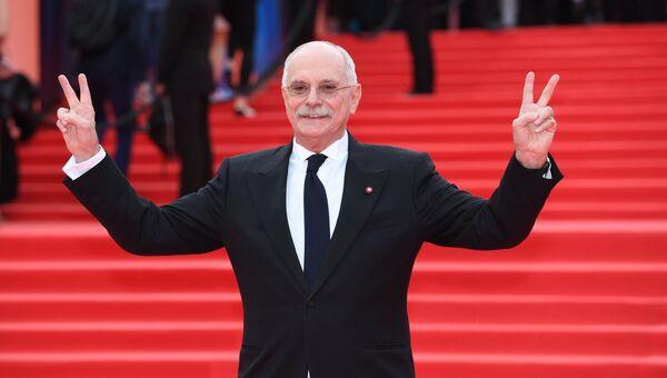 Президент Московского международного кинофестиваля, председатель Союза кинематографистов РФ Никита Михалков