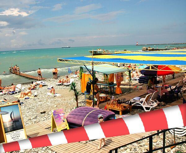 Взрыв неустановленного взрывного устройства произошел в 10.00 на городском пляже