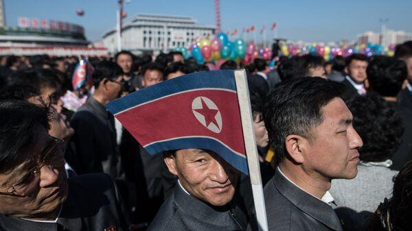 Жители Пхеньяна. Архивное фото