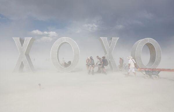 Фестиваль Burning Man в Неваде