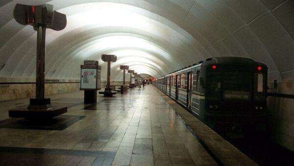 Станция метро Тимирязевская в Москве.