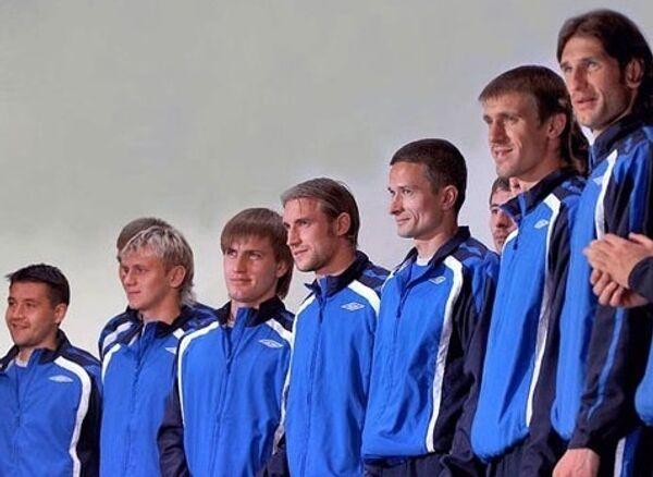 Футболисты Шинника