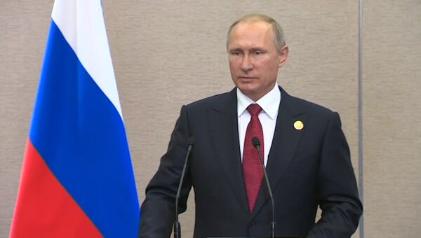 LIVE: Пресс-конференция Владимира Путина на БРИКС