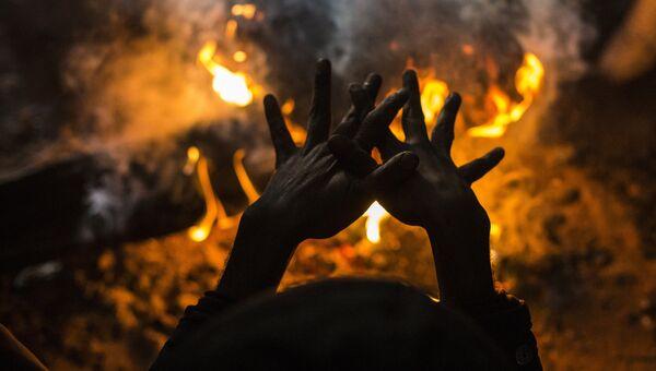 Беженцы в Белграде. Работа фотографа Алехандро Мартинес Велес из Испании