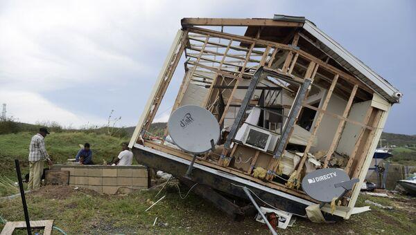 Последствия урагана Ирма на острове Кулебра, Пуэрто-Рико