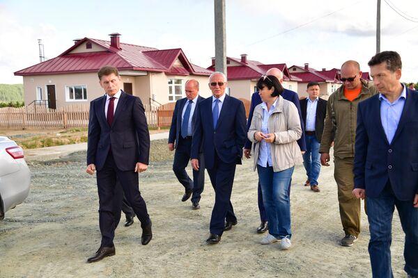 Госсекретарь Союзного государства Григорий Рапота на Сахалине