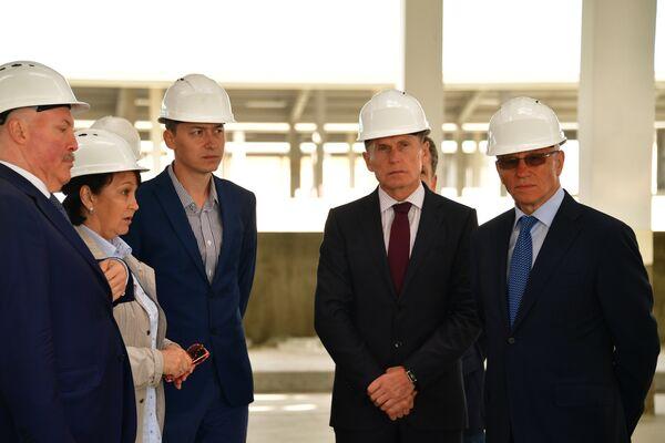 Губернатор Сахалинской области Олег Кожемяко и Госсекретарь Григорий Рапота обсудили перспективы сотрудничества регионов РФ и РБ