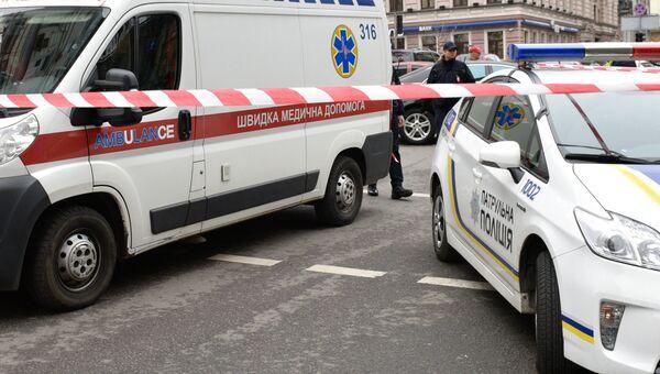 Автомобили экстренных служб на Украине. Архивное фото