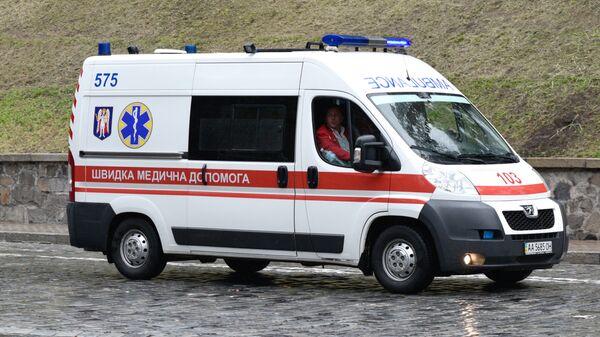 Скорая помощь на Украине. Архивное фото