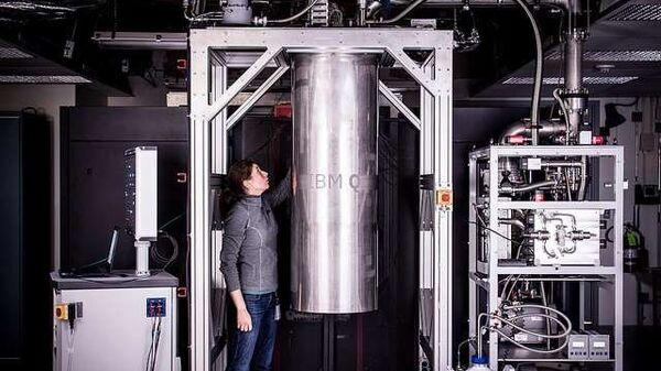 IBM-квантовый компьютер на 16 кубит