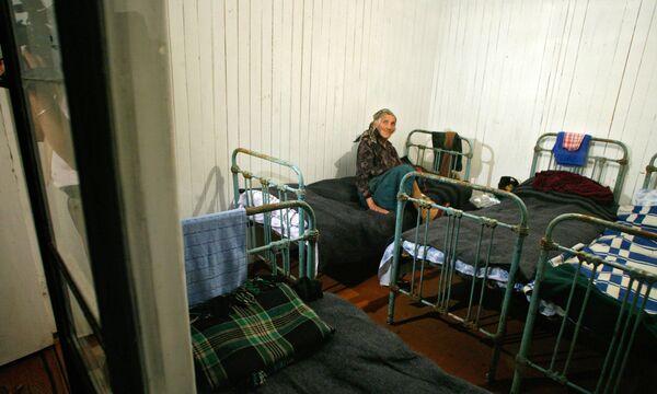 Лагерь беженцев в Северной Осетии