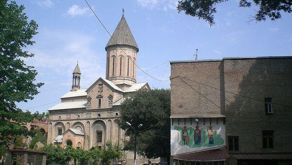 Столица Грузии - город Тбилиси