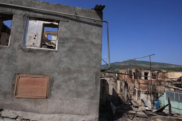 Разрушения в Цхинвали