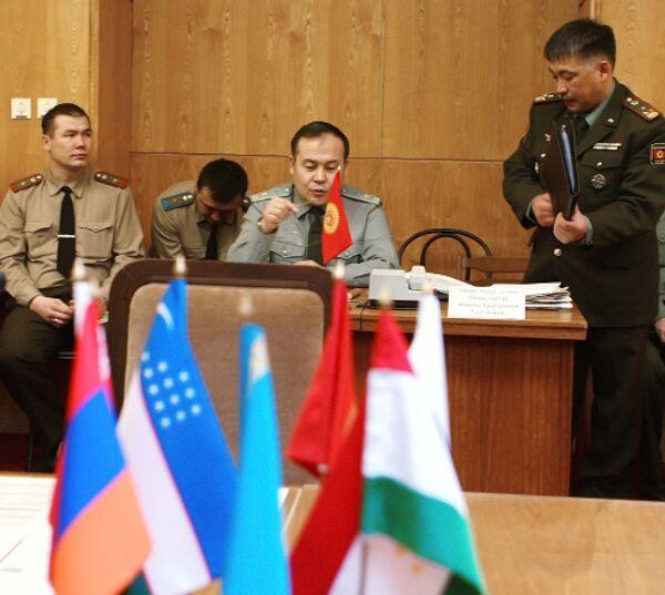 Первые учения по применению КСОР начнутся в среду в штабе ОДКБ