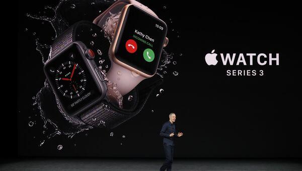 Презентация часов Apple Watch Series 3. 12 сентября 2017