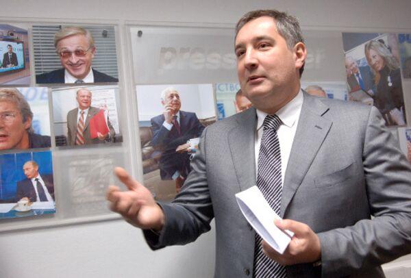 Постпред РФ в НАТО Дмитрий Рогозин
