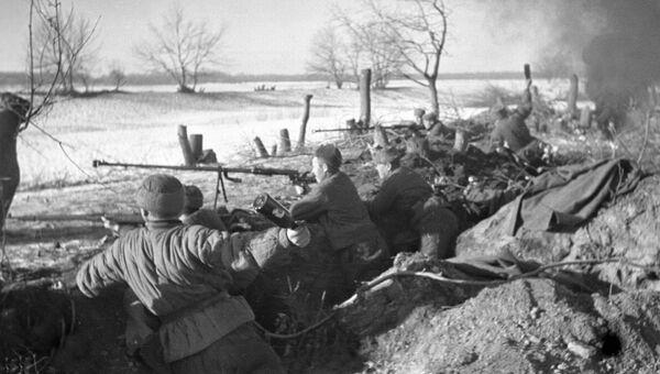 Бои на подступах к Сталинграду. 1942 год. Архивное фото