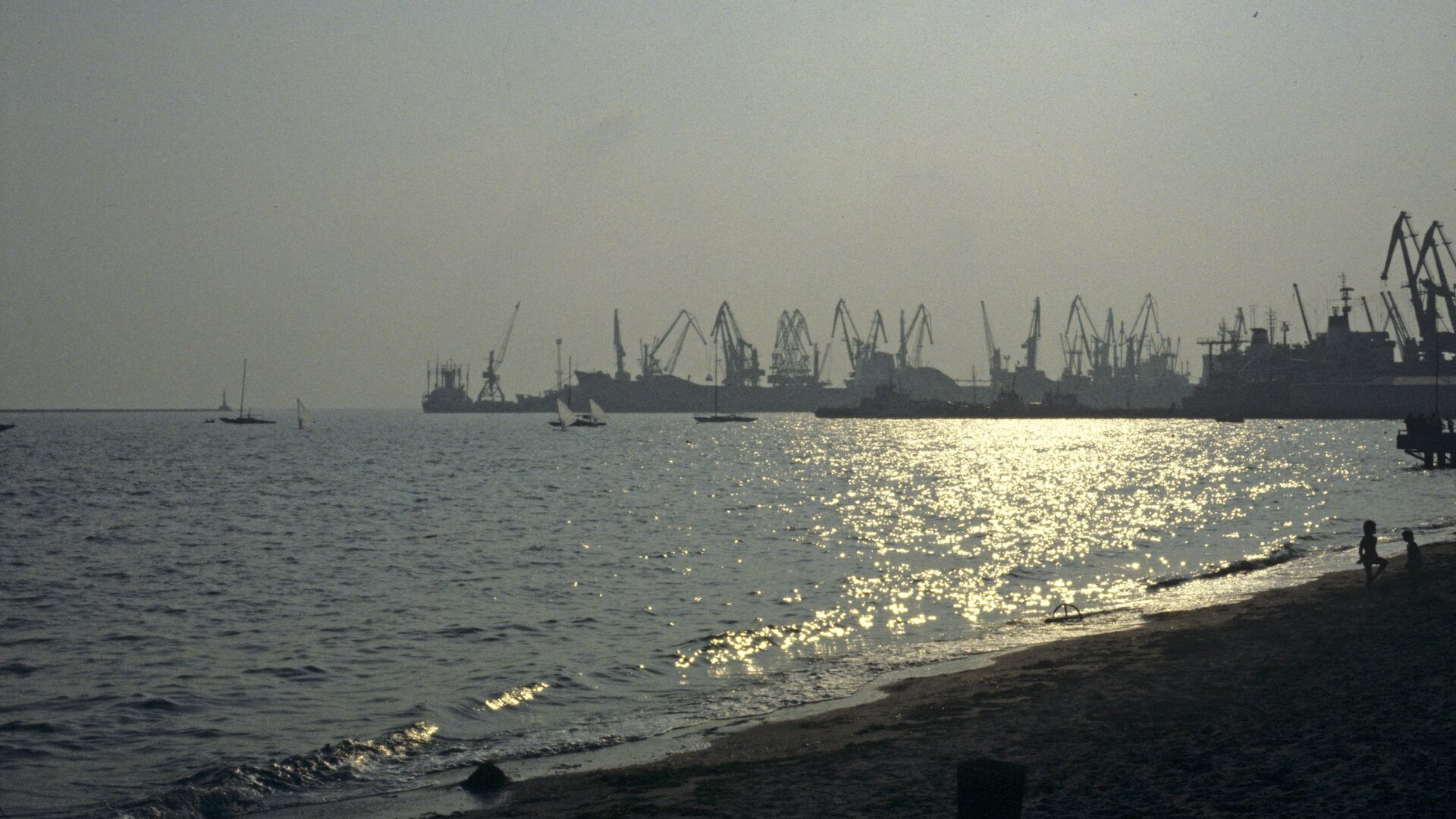 Бердянский морской порт - РИА Новости, 1920, 12.04.2021