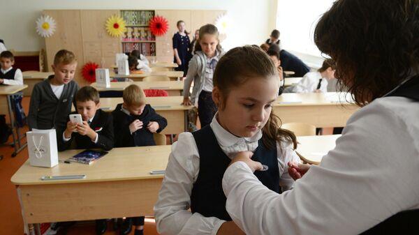 Дети в школе. Архивное фото
