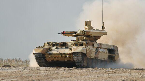 Боевая машина огневой поддержки БМПТ Терминатор-3. Архивное фото