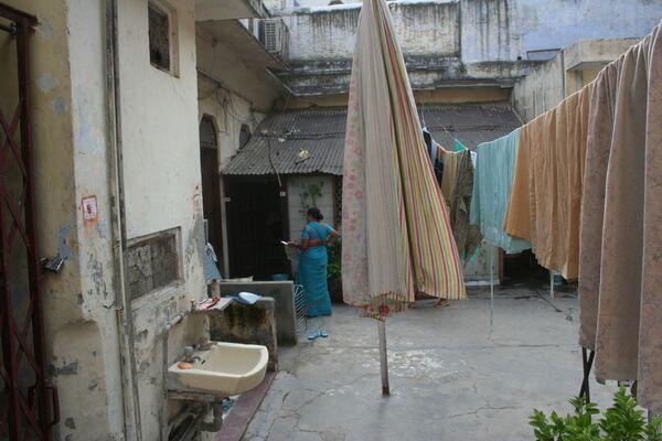 Дом в Дели, где родился и провел первые годы жизни бывший президент Пакистана Первез Мушарраф