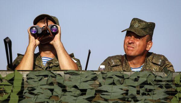 Военнослужащие вооруженных сил РФ. Архивное фото
