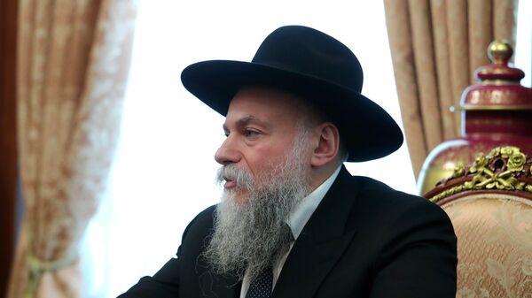 Глава Федерации еврейских общин Александр Борода. Архивное фото