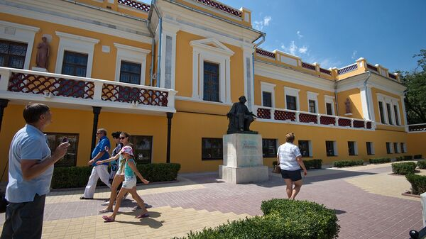 Здание картинной галереи имени И.К. Айвазовского