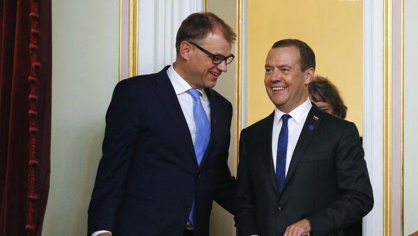Рабочая поездка премьер-министра РФ Д. Медведева в Северо-Западный федеральный округ