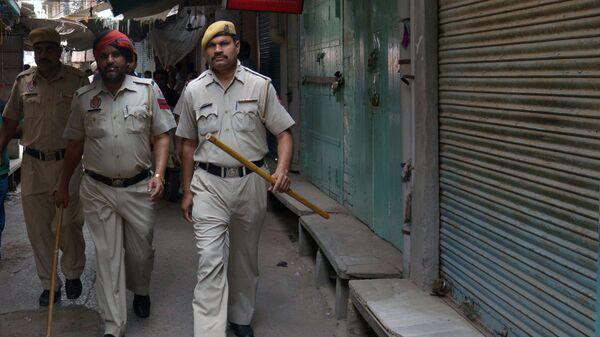 Индийские полицейские