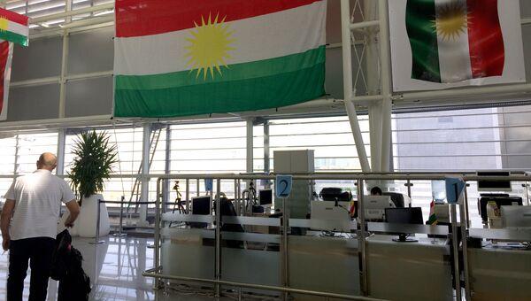 Флаги Иракского Курдистана. Архивное фото