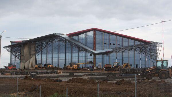 Здание международного аэропорта в Саранске. Архивное фото