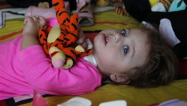 Ксюша Савва, пациентка детского хосписа «Дом с маяком»
