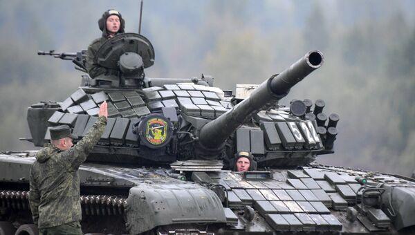 Российско-белорусские военные учения Запад-2017 в Белоруссии