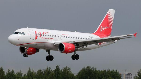 Самолет Airbus A319 авиакомпании ВИМ-Авиа. Архивное фото